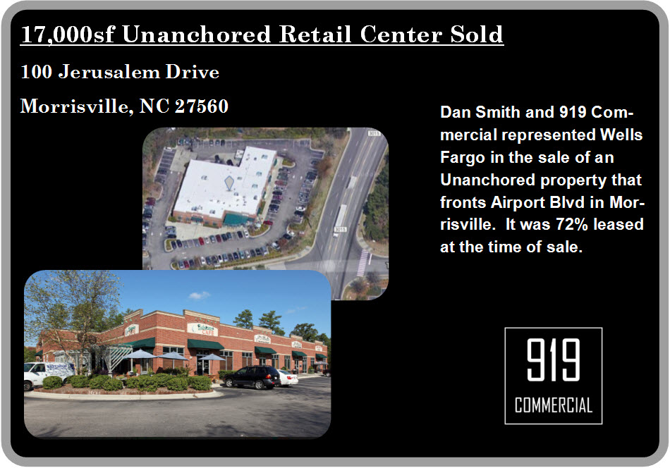 Retail Center Sold